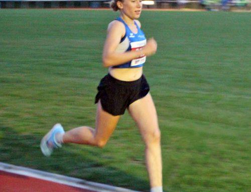 Hermannslauf 2021 – Siegerin bei den Frauen – Stephanie Strate (SVB)